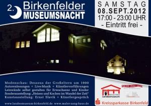 Plakat Museumsnacht 2012