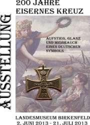 """Plakat zur Sonderausstellung """"200 Jahre Eisernes Kreuz"""""""