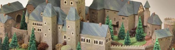 Modell der Burg Birkenfeld (um 1600)