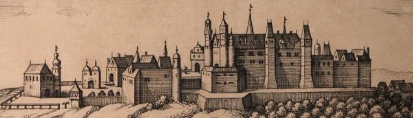 Burg Birkenfeld, Darstellung in einem alten Stich