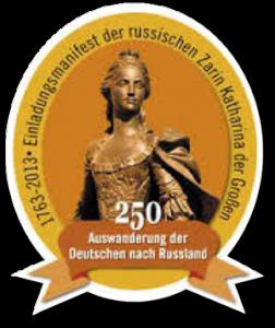 1763 suchte Katharina II in ganz Europa Kolonisten für Russlands ungenutzte Flächen.
