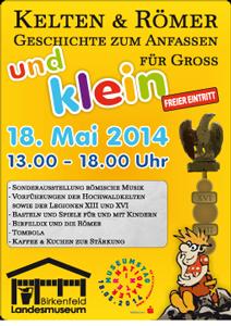 Der Internationale Museumstag 2014 wird am Landesmuseum Birkenfeld sich nicht langweilig.