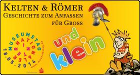 """Am 18.05.2014 gibt es """"echte"""" Kelten und Römer zum Anfassen und Ansprechen und viele Aktionen für Kinder am Landesmuseum in Birkenfeld"""