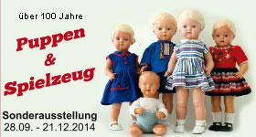 Puppen & Spielzeug, Begleiter vieler Kindergenerationen in den letzten 100 Jahren.