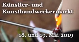 Künsteler- und Kunsthandwerkermarkt mit Mitgliedern des Kunstvereins Obere Nahe