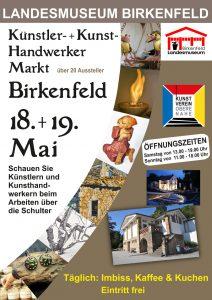 Plakat Künstler- und Kunst-Handwerker Markt 2019